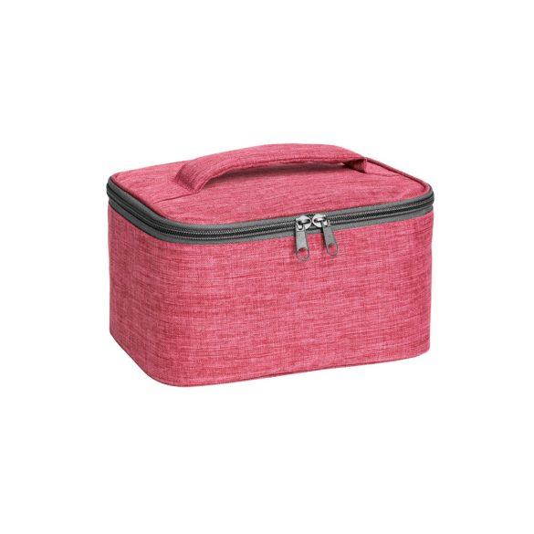 Geanta cosmetice pentru voiaj, Everestus, SGC02, poliester 300D, roz