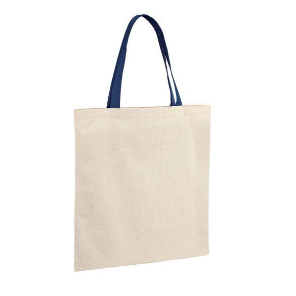Bag, 100% cotton: 140 g/m², Blue