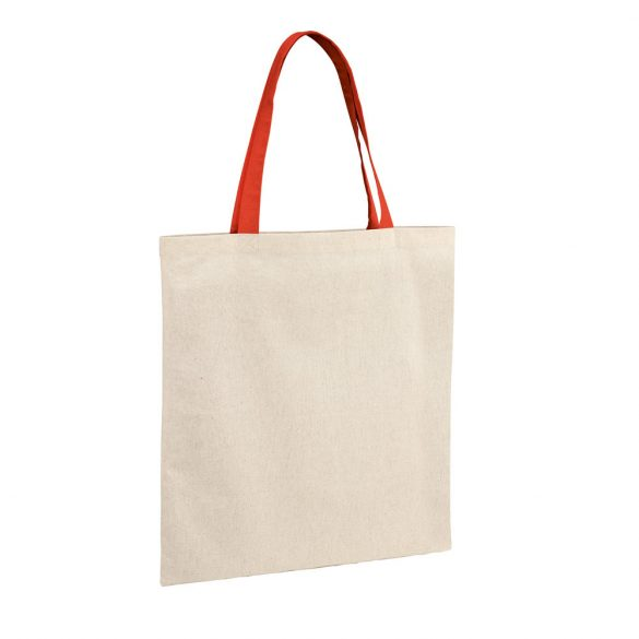Bag, 100% cotton: 140 g/m², Red