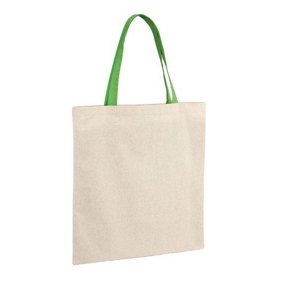 Bag, 100% cotton: 140 g/m², Light green