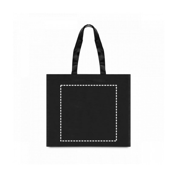 Bag, Non-woven laminated: 110 g/m², Black
