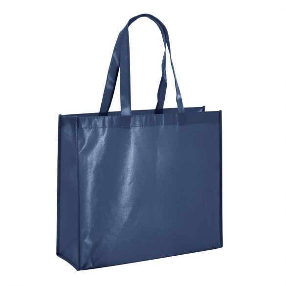 Bag, Non-woven laminated: 110 g/m², Blue