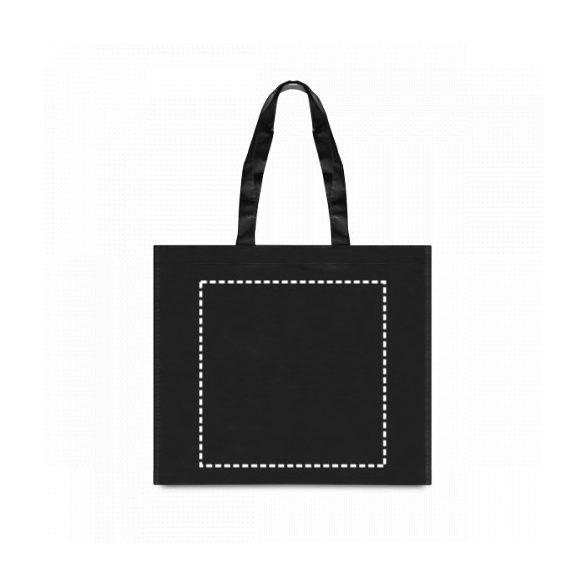 Bag, Non-woven laminated: 110 g/m², Light blue