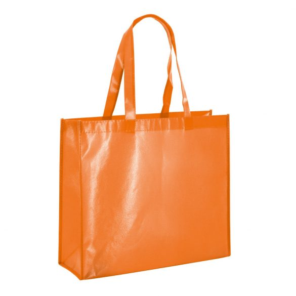 Bag, Non-woven laminated: 110 g/m², Orange