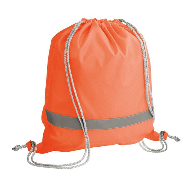 Drawstring bag, 210D, Orange