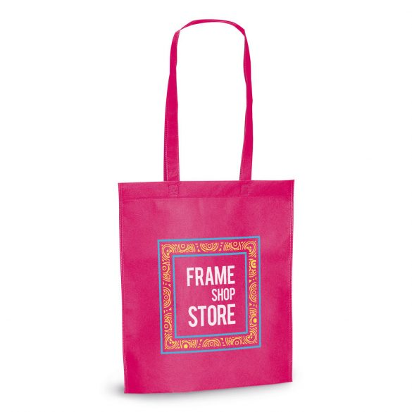 Bag, Non-woven: 80 g/m², Pink