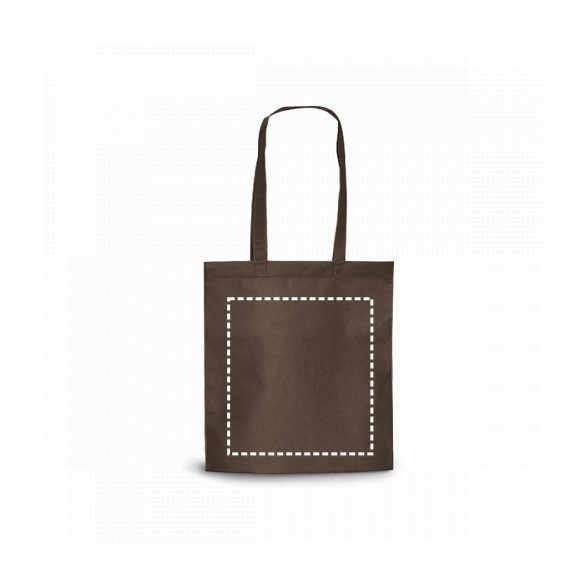 Bag, Non-woven: 80 g/m², Bege