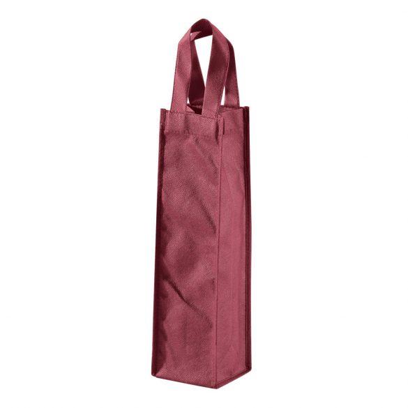 Sacosa sticla de vin, Everestus, WB01, material netesut, burgundy