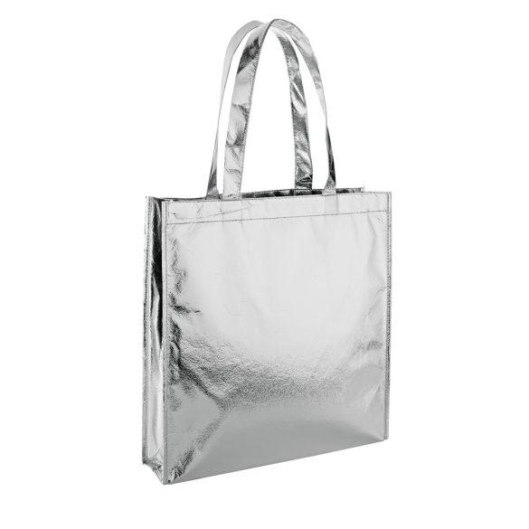 Bag, Non-woven laminated: 90 g/m², Silver