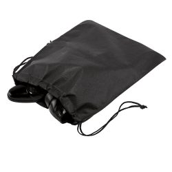 Shoes bag, Non-woven: 80 g/m², Black
