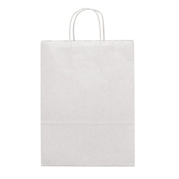 Bag, Kraft paper: 90 g/m², White