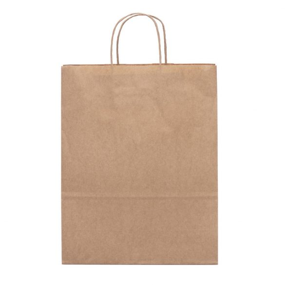 Bag, Kraft paper: 115 g/m², Natural