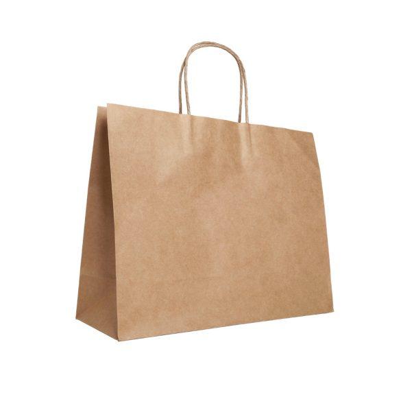 Bag, Kraft paper: 115 g/m², Natural