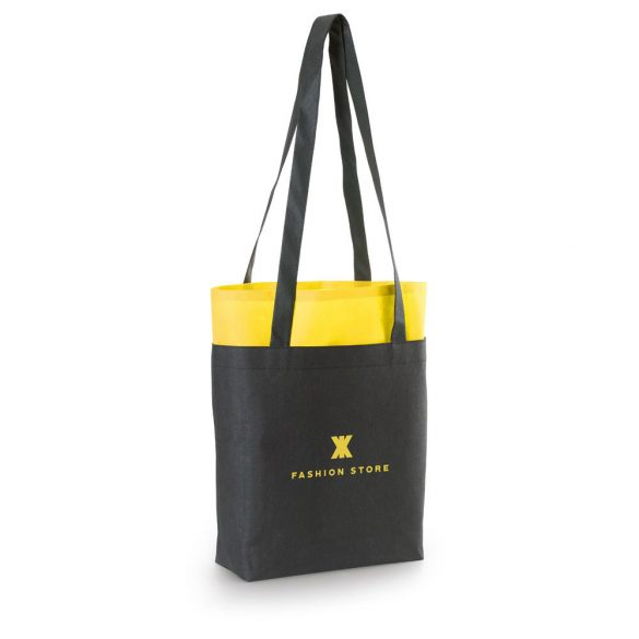 HARROD. Bag, Non-woven: 80 g/m², Yellow