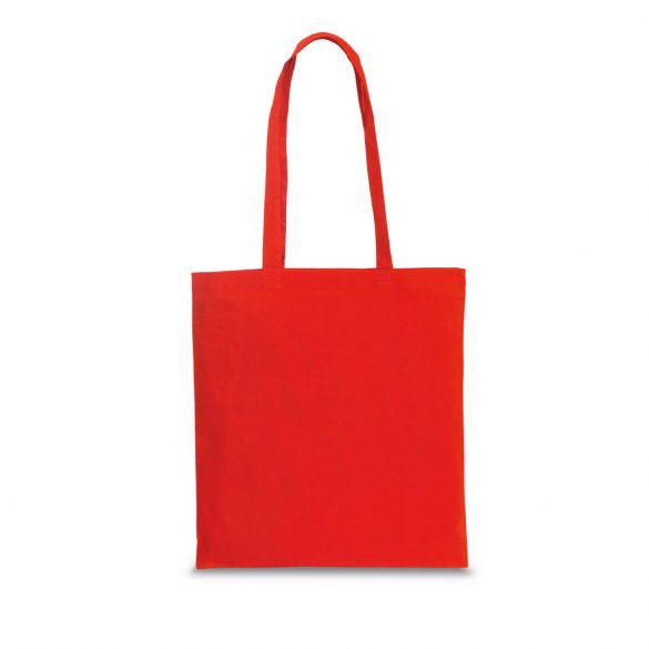 Bag, 100% cotton, Red