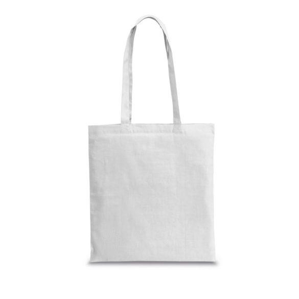 Bag, 100% cotton, White