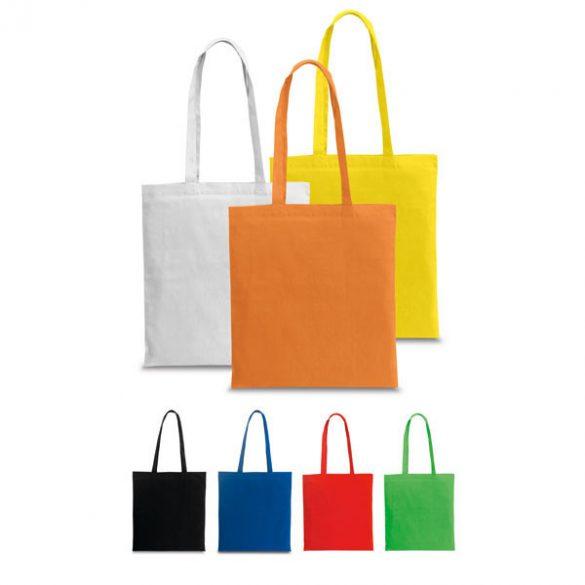 Bag, 100% cotton, Orange