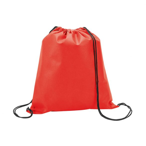 Drawstring bag, Non-woven: 80 g/m², Red