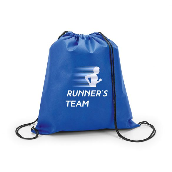 Drawstring bag, Non-woven: 80 g/m², Royal blue