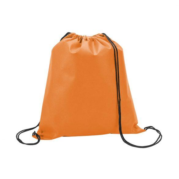 Drawstring bag, Non-woven: 80 g/m², Orange