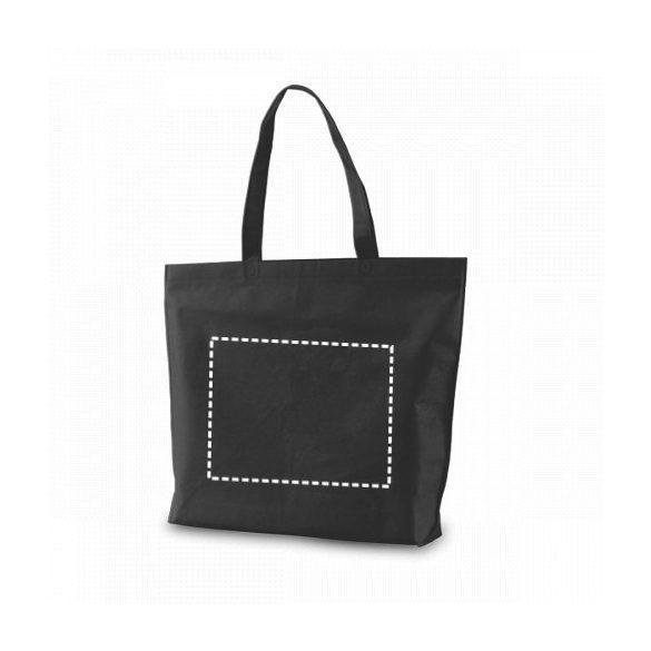 Bag, Non-woven: 80 g/m², Light blue