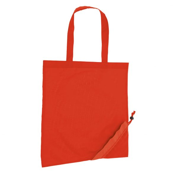 Foldable bag, 190T, Red