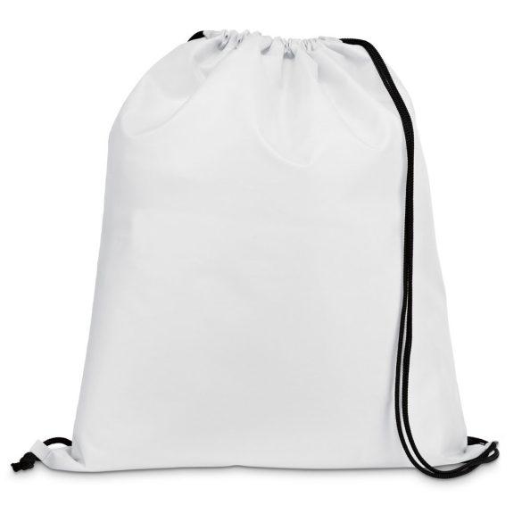 Drawstring bag, 210D, White