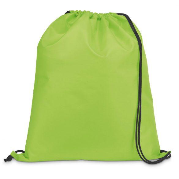 Drawstring bag, 210D, Light green