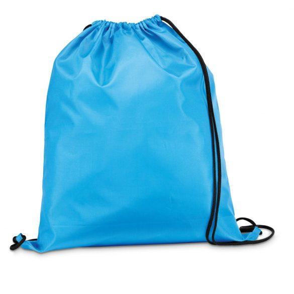 Drawstring bag, 210D, Light blue