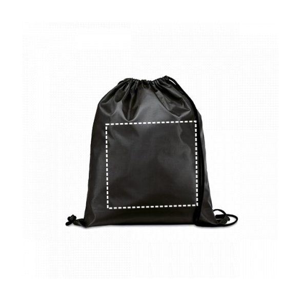 Drawstring bag, 210D, Orange