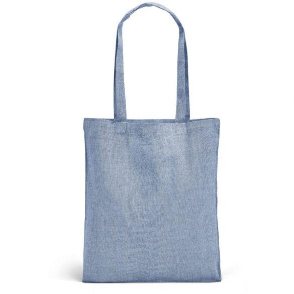 Sacosa de cumparaturi 41x37 cm, Everestus, 20FEB1385, Bumbac, Albastru