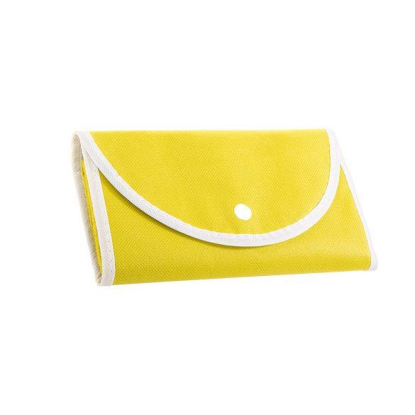 Foldable bag, Non-woven: 80 g/m², Yellow