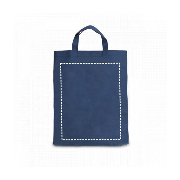 Foldable bag, Non-woven: 80 g/m², Light green