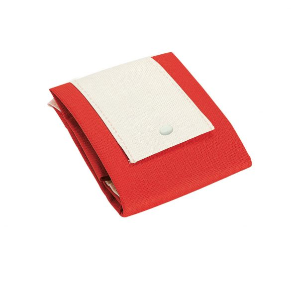 Foldable bag, Non-woven: 80 g/m², Red