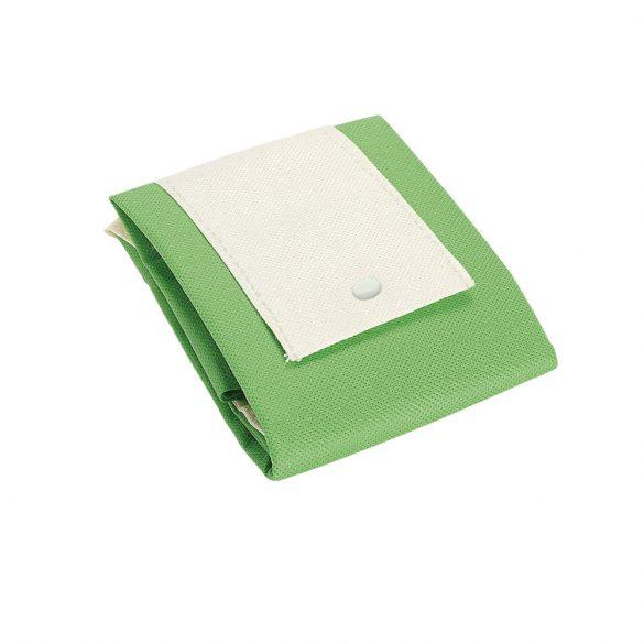 Foldable bag, Non-woven: 80 g/m², Light green