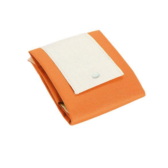 Foldable bag, Non-woven: 80 g/m², Orange