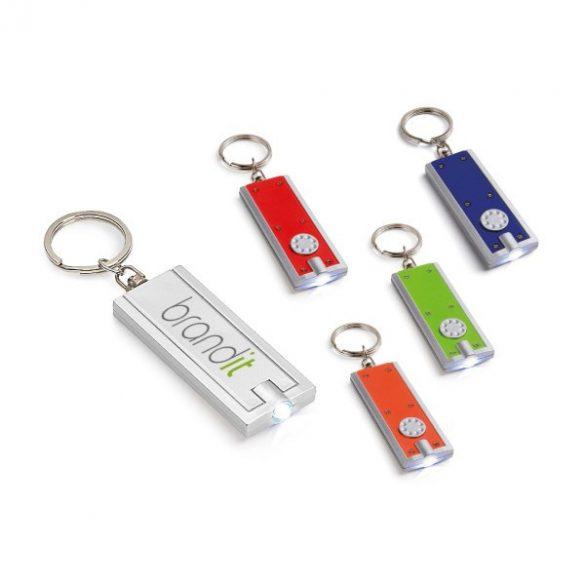 Breloc cu led, Everestus, KR0489, plastic, verde