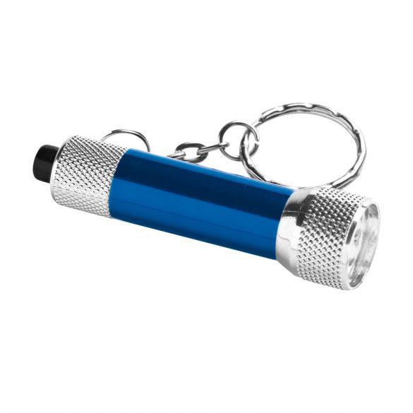 Breloc lanterna cu 3 leduri, Everestus, KR0439, aluminiu, albastru