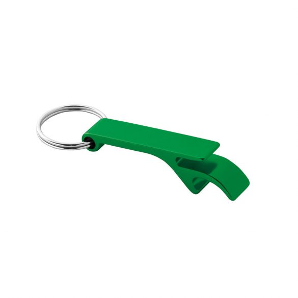 Breloc desfacator de sticle, Everestus, KR0442, aluminiu, verde