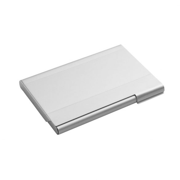 Cardholder, Aluminium, Satin silver