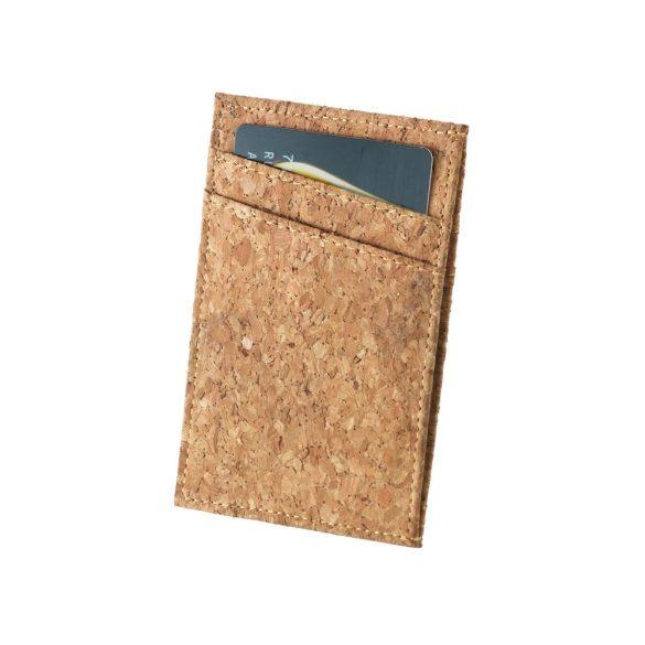 Portofel pentru carduri, Everestus, WT01, pluta, natur, 68x106 mm