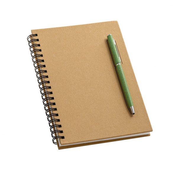 Agenda B6 cu spirala si coperta tare, 140 pagini, Everestus, 20FEB1281, Hartie, Natur