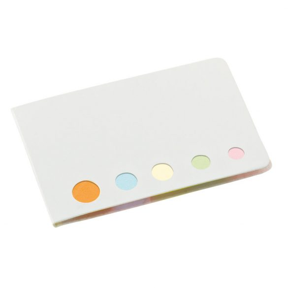 Sticky notes set, Cardboard, White