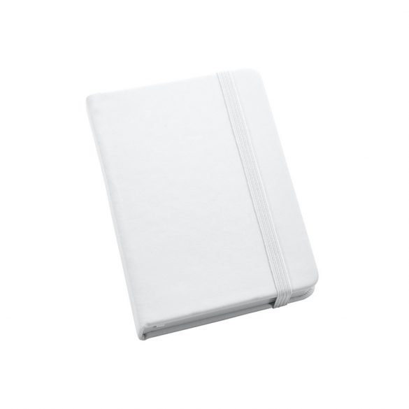 Notepad, Imitation leather, White
