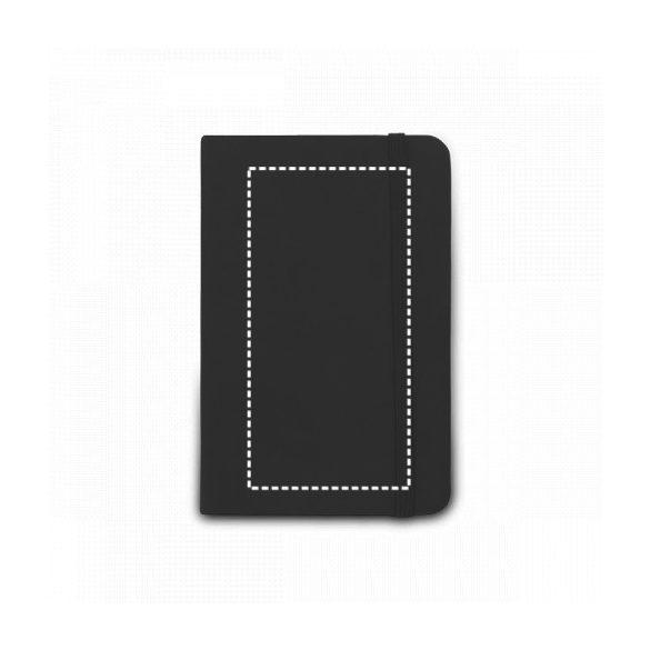 Notepad, Imitation leather, Yellow