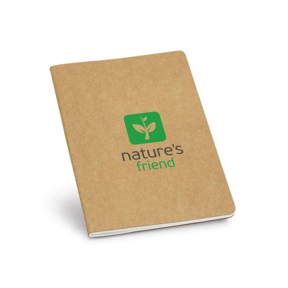 Notepad, Recycled cardboard, Natural