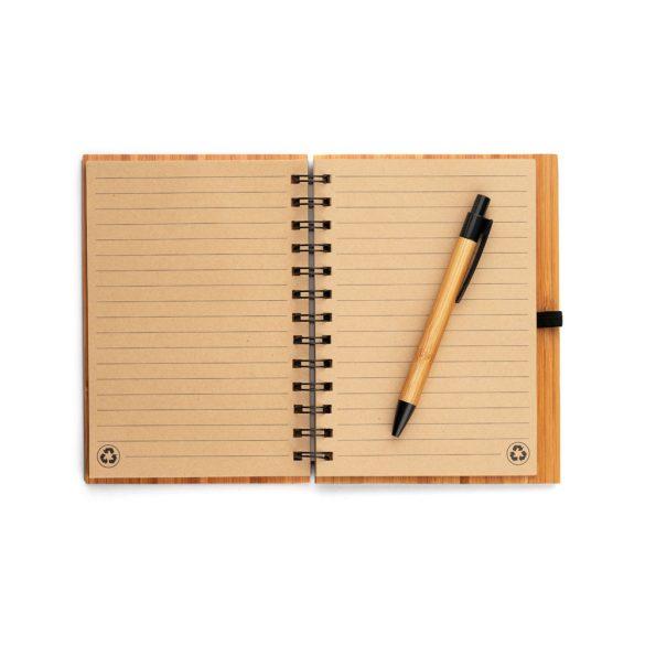 Agenda B6 cu pagini dictando, Everestus, ND01, bambus, natur