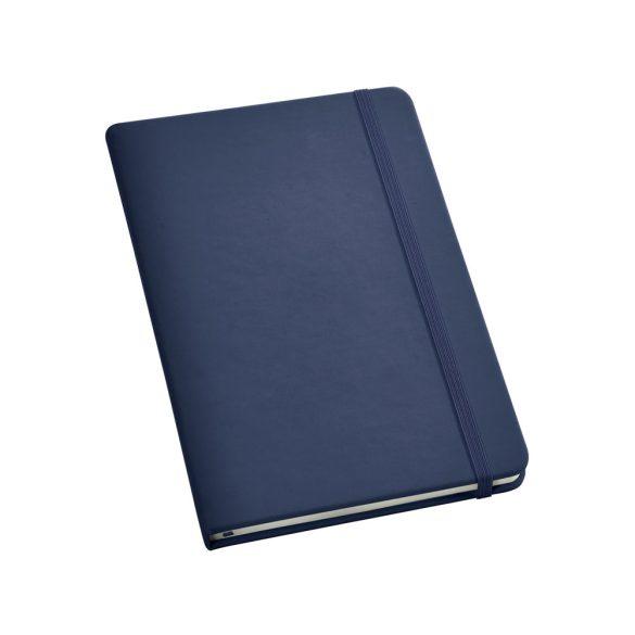 Notepad, Imitation leather, Blue
