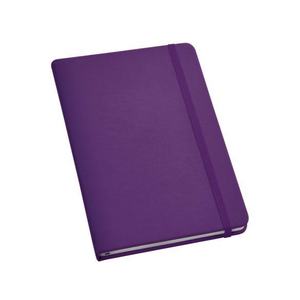 Notepad, Imitation leather, Violet