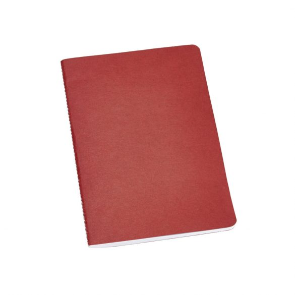 Notepad, Recycled cardboard, Red